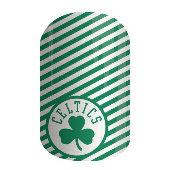 Boston Celtics   NBA Collection by Jamberry   Get courtside style with the NBA Collection by Jamberry. Our officially licensed NBA products feature your favorite team logo and colors, so your mani is sure to be a slam dunk with 'Boston Celtics'.