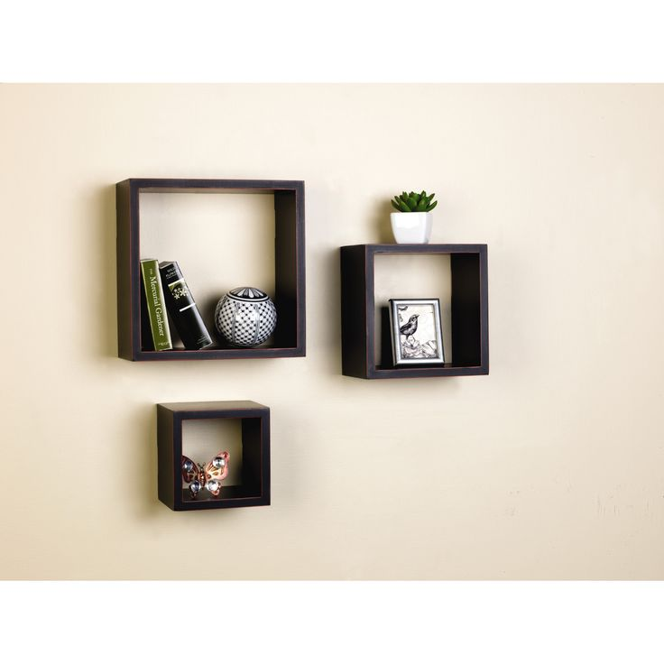 Melannco 3 Piece Nesting Cube Shelf Set & Reviews | Wayfair