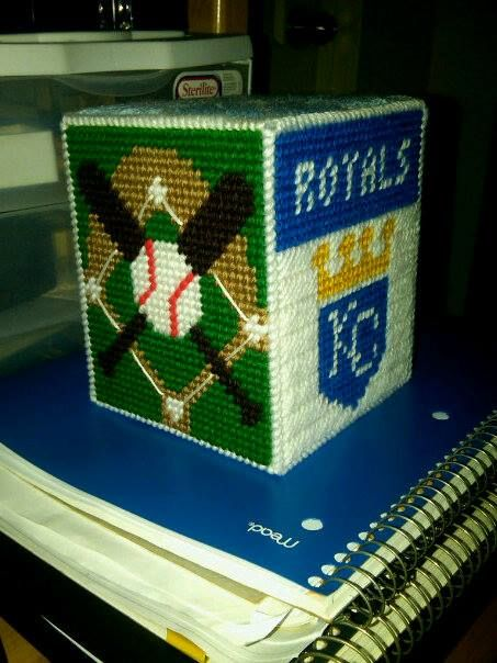 My Plastic Royals    Pinterest     Royals Canvas Baseball