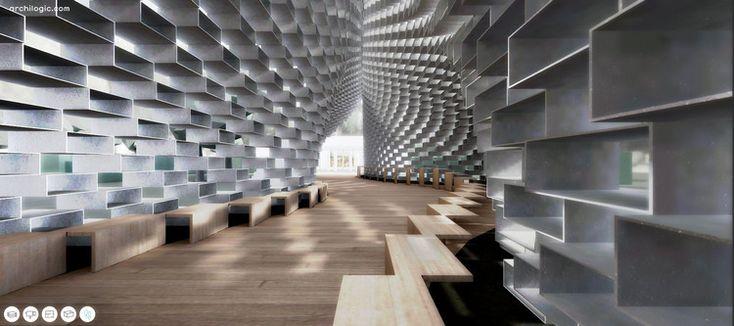 Brinque com a versão paramétrica do Serpentine Pavilion do BIG | ArchDaily Brasil