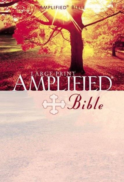 Amplified Bible/Large Print-Hardcover