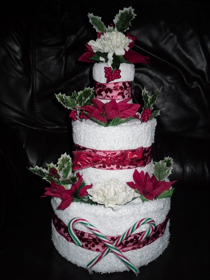 17 Best images about Christmas Wedding Cake s on Pinterest ...