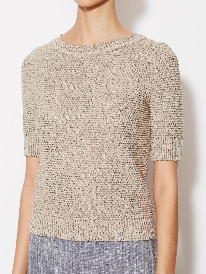 Silk Cotton Embellished Pullover from Designer Steals: Dresses