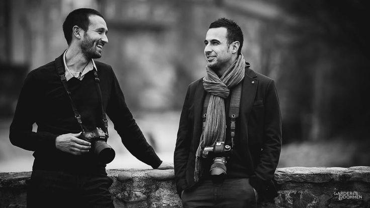 Sylvain Gardères et Damien Dohmen, vos photographes