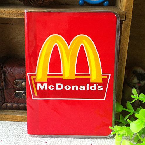 McDonald's personality passport documents PVC bag package - short paragraph sets of documents