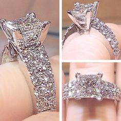 LOVE THIS RING   brides   Pinterest   Rings, Engagement Rings and Engagement