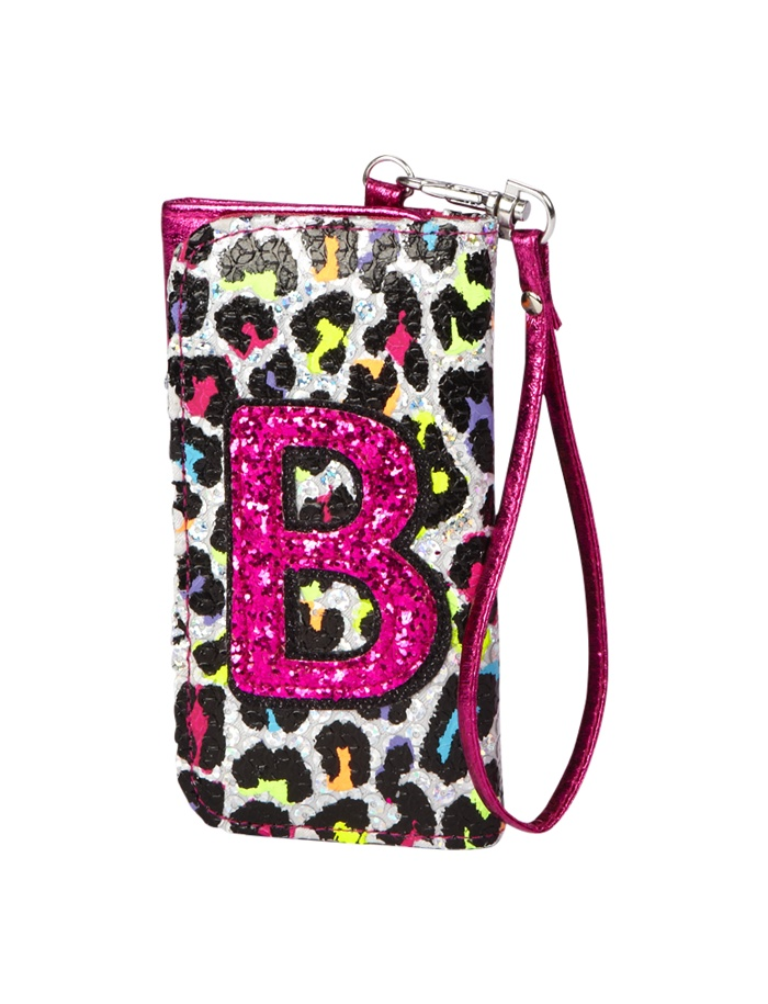 Justice Girls Pink Multi Sequin Signature Logo Crossbody ... |Justice Wallets For Girls