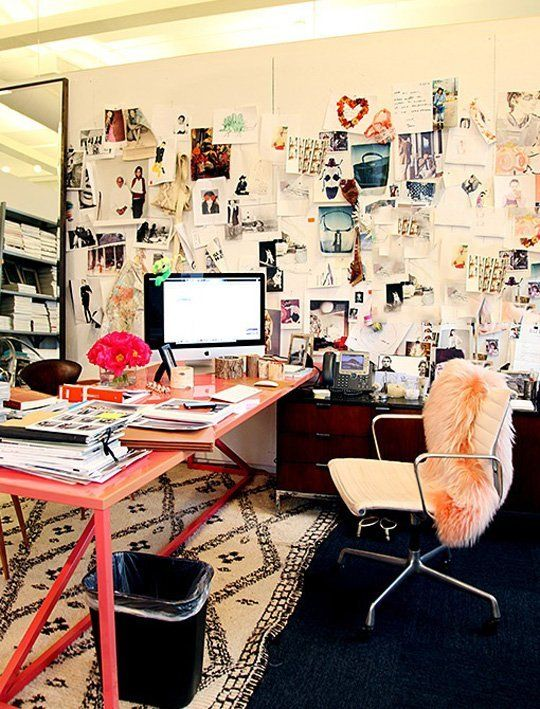Dabney's Treasure Hunt: Inspiring Workspaces — Liveblogging the Style Cure