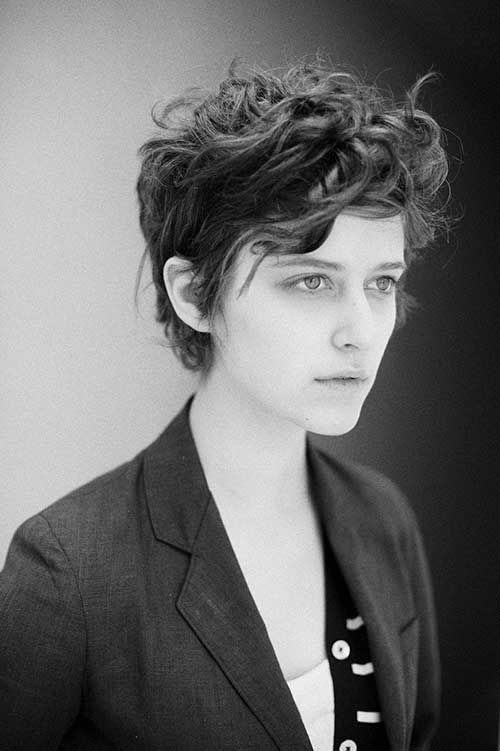 Tomboy Girl Hairstyle Tomboy Haircuts For Pinterest 2016
