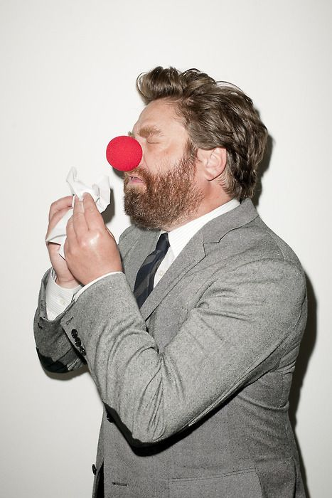 Zach Galifianakis. I love him so much!
