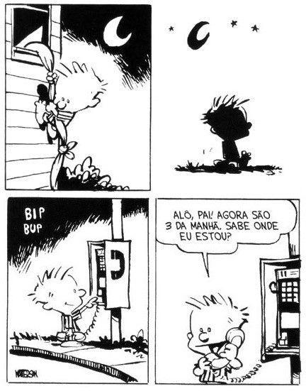 Calvin e Haroldo - Tirinha  nº 27