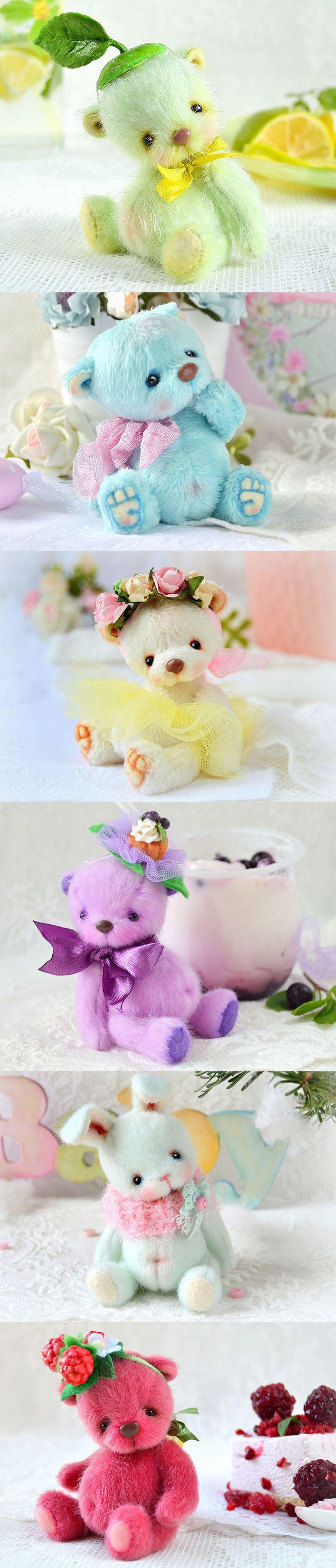 Cute teddy bears by Tanya Golub