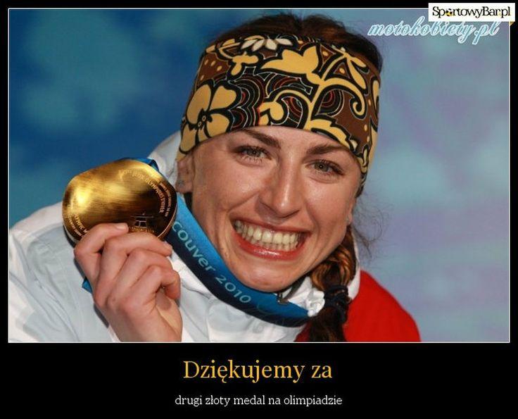Justyna Kowalczyk zdobyła olimpijskie złoto - internauci wniebowzięci