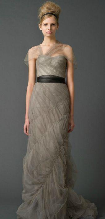 Les 25 meilleures id es de la cat gorie robes de mariage for Vera wang robes de mariage d hiver