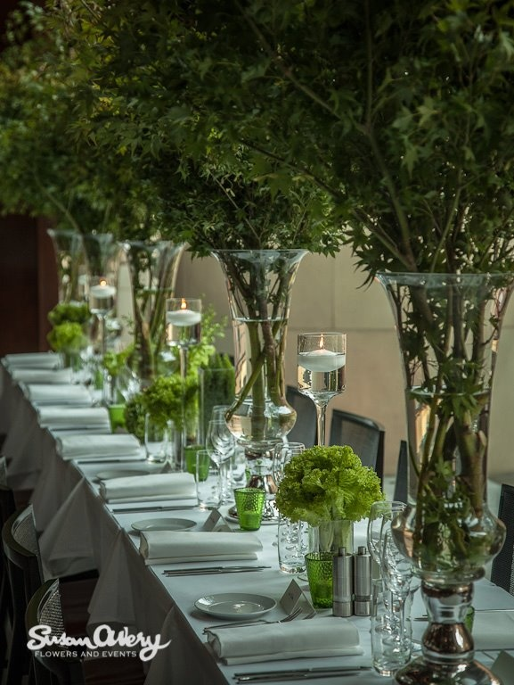 Best images about green leaves centerpieces decor on