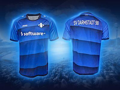 maillot de foot pas cher 2018: La vente maillot de foot Jako Darmstadt 2017