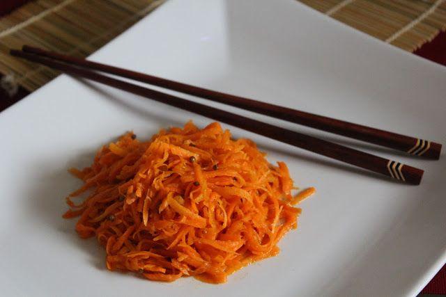 Блог Елены Рольхайзер: Сыроедческая морковка по-корейски