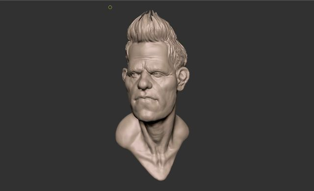 Zbrush Head Sketch on Vimeo