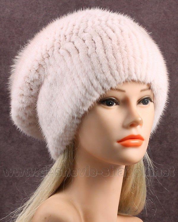 Шапки из норки женские - престижная мода этой зимы