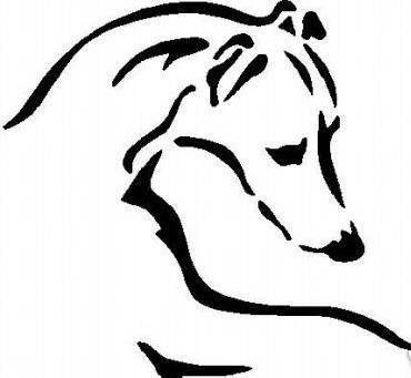 whippet clipart | argowan borzoi scottish terriers and whippets whippet art info history