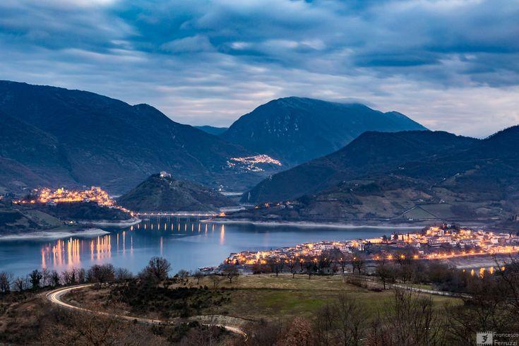 Il #lago del #Turano Colle di Tora, Castel di Tora e Ascrea #paesaggio #fotografia #lazio