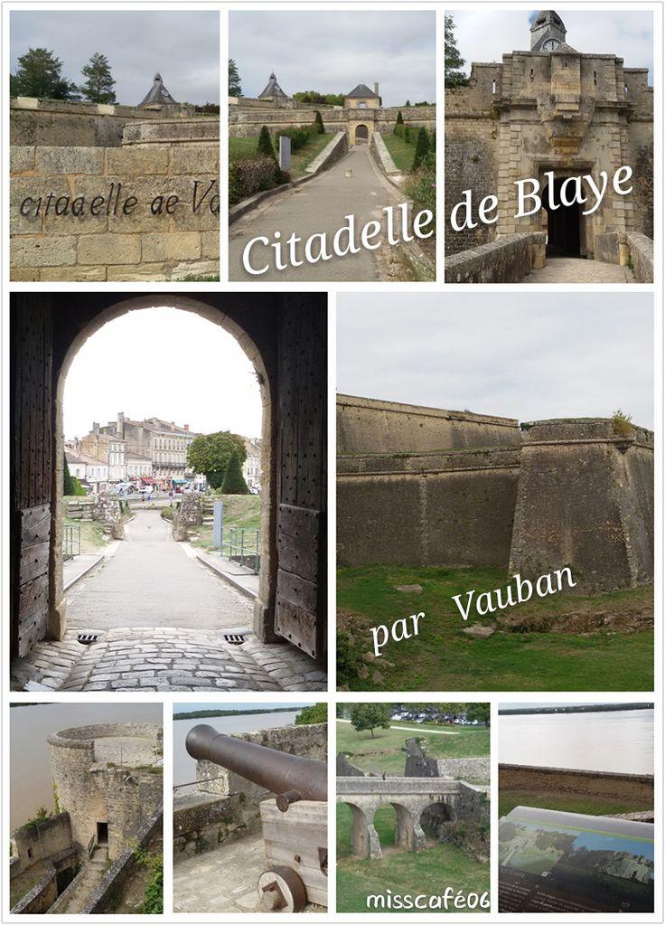 Citadelle de Blaye (33) sous la supervision de Vauban. La citadelle domine l'estuaire de la Gironde