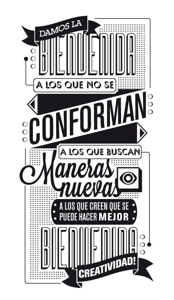 The Compositeur / El Componedor by JuanJo Rivas del Rio, via Behance