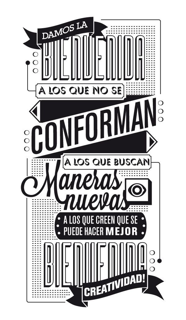 The Compositeur / El Componedor by JuanJo Rivas del Rio, via Behance