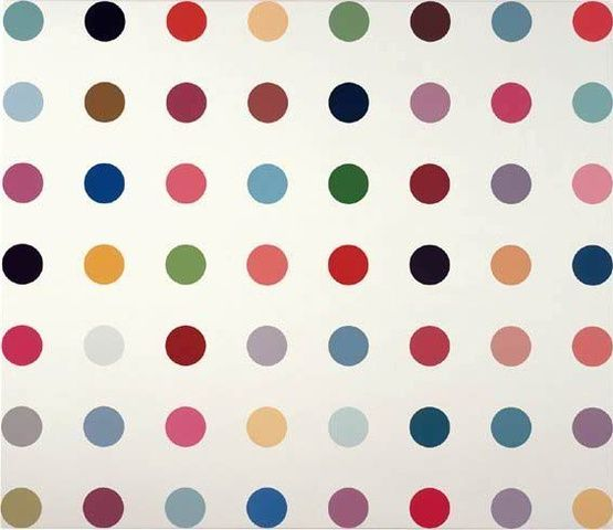 Damien Hirst, Calcium Hydride, 2007 at www.meadcarney.com  #DamienHirst #MeadCarney #London #art #artgallery