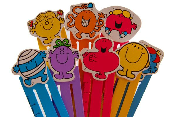 Mr Men and Little Miss Bookmarks