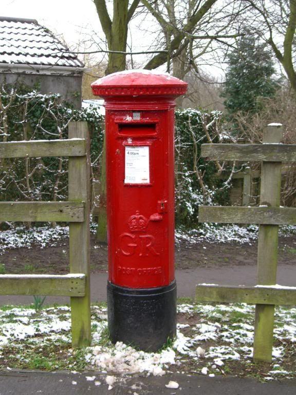 English post box, Bristol