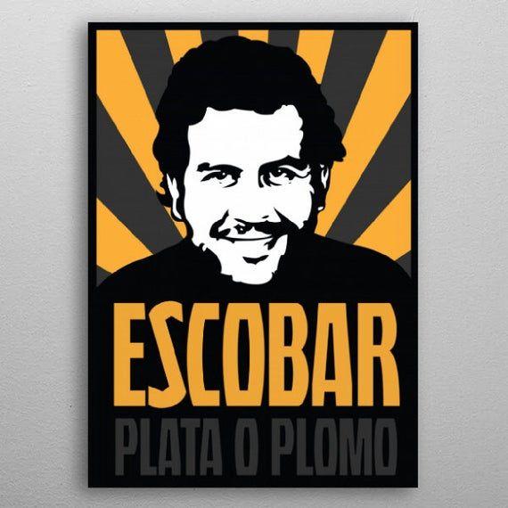 Pablo Escobar Plata O Plomo Gloss Poster 17 X 24 Pablo Escobar Escobar Pablo
