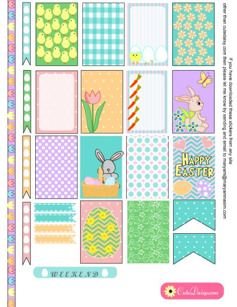 Calendar Symbols Printables : Best ideas about easter calendar on pinterest