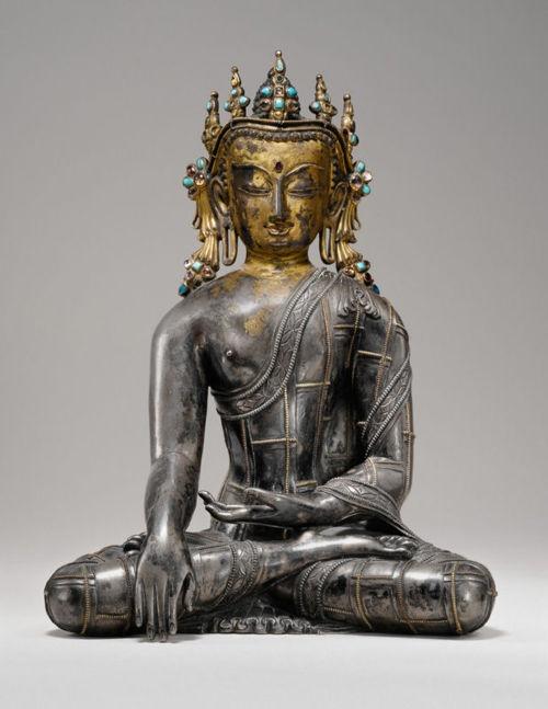 Buddha Sakyamuni, Tibet, 13th century
