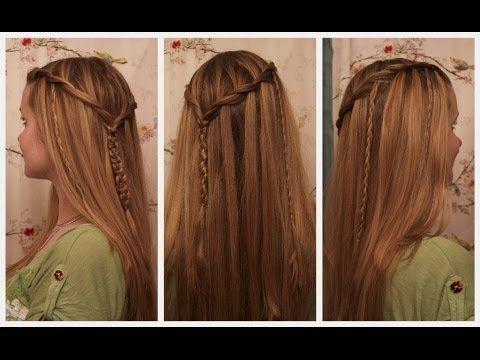 Vikings Hair Tutorial : Siggy Inspired Braided Hairstyle