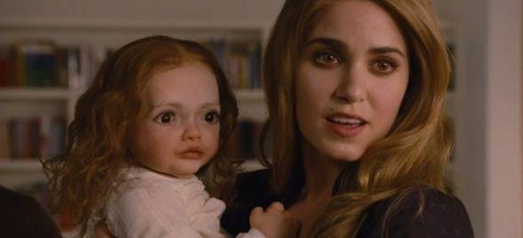 Terror absoluto: así iba a ser el bebé de Bella y Edward en 'La saga Crepúsculo: Amanecer'