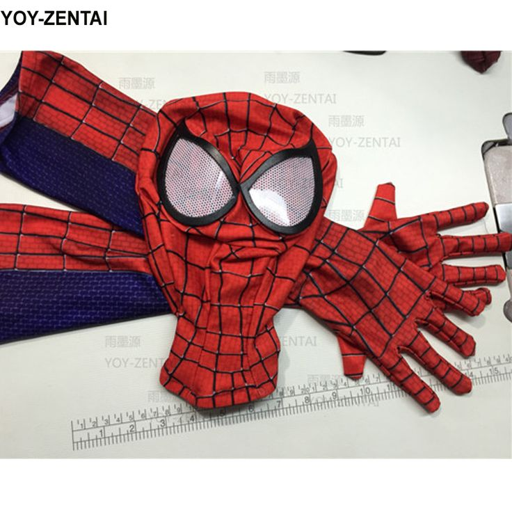 ==> [Free Shipping] Buy Best High Quality Spiderman Mask Spiderman Gloves Online with LOWEST Price   32772688104