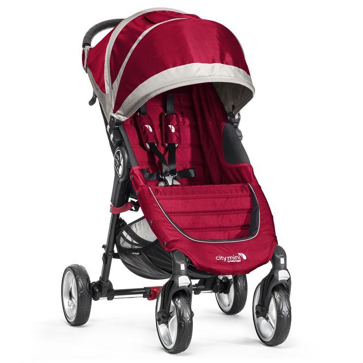 City Mini 4 - Crimson/Gray Scopri tutti i modelli su www.babyjogger.it   #babyjoggeritalia