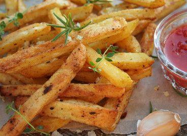 Полезный картофель-фри с розмариновой солью (фото)