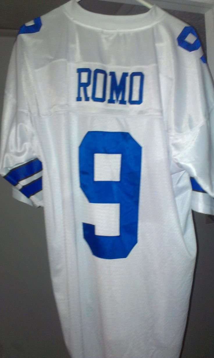 Tony Romo jersey in Mygarageisyours Sale in Newport News , VA for $85. I have a tony romo jersy i purchased a year ago, only wore twice, however it has always been a lil too big for me, so im letting it go....img  src=http://garagesalehomepage.com/userimages/22844.jpg alt= style=height: 40px; width: 40px; border: 4px solid black;