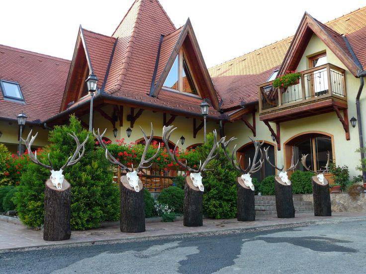 Beautiful Hungary: Bárna - Hunter house- Vad Kft Vadász és Pihenőház, Hungary