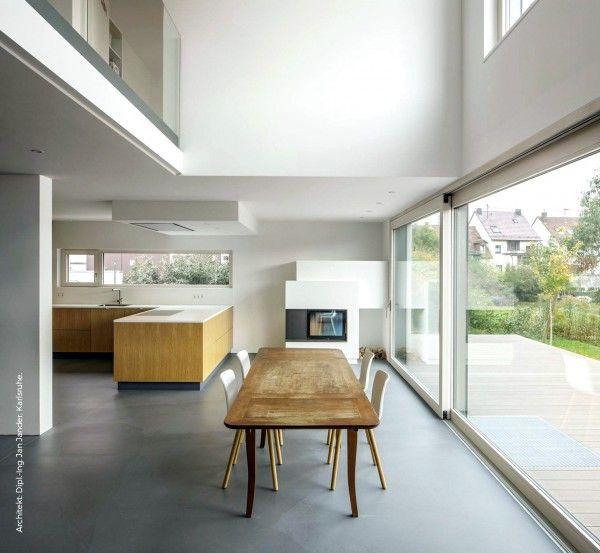 99 best BÉTON LISSÉ - Sols images on Pinterest Family homes - maison en beton coule