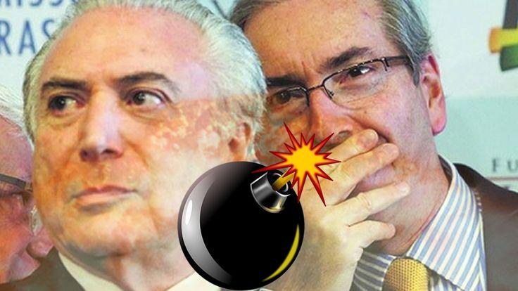 Uma Bomba Está Prestes a Estourar No Brasil Envolvendo Cunha e o Preside...