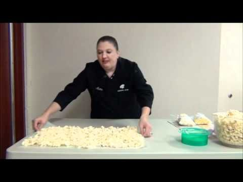 We at ShopBakersNook will show you how to make white chocolate covered popcorn. You can buy the chocolate used to make chocolate popcorn here on our site: ht...