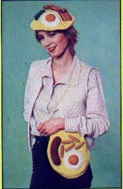 Jackie Annual 1979 - Fry Up Beret and Bag - Unreal!