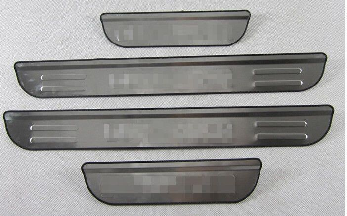 nice Great Stainless Door Sill Scuff Plate Protector For Mitsubishi Outlander 2016 2017 2018