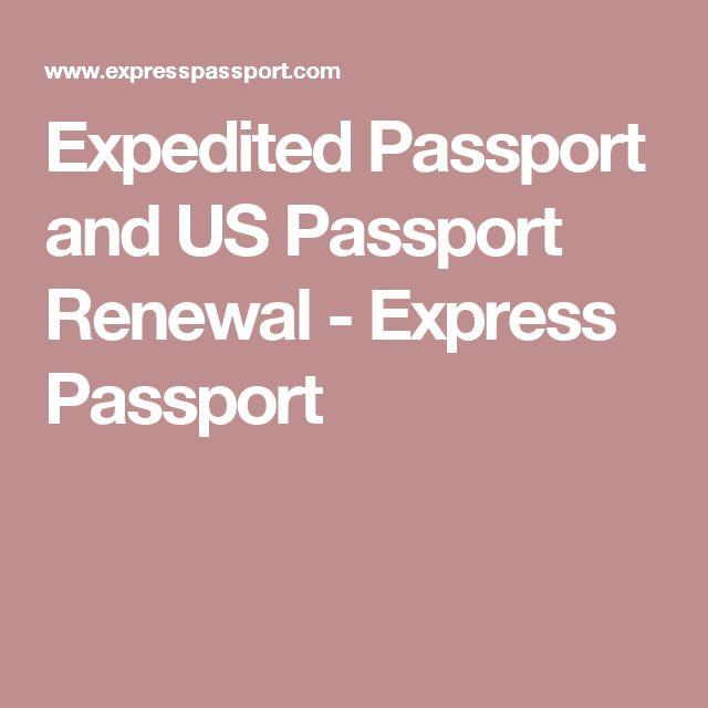 Expedited Passport and US Passport Renewal - Express Passport