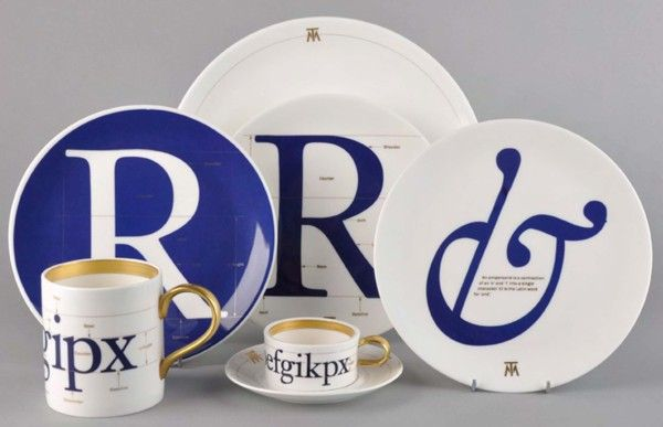 Tableware For Type Lovers.