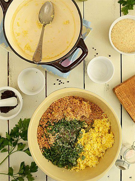 Kotleciki z jajek i kaszy jaglanej - pyszne, lekkie i zdrowe  - etap 3