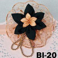 Bros Bunga Cantik Kombinasi Renda & Untaian BI-20